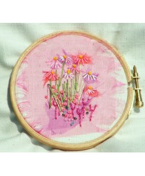 "5"" Wooden Embroidery Hoop"