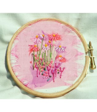 "4"" Wooden Embroidery Hoop"