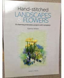 """Hand Stitched Landscapes and Flowers"" by Katrina Witten"