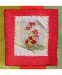 Poppy Felt Needlecase