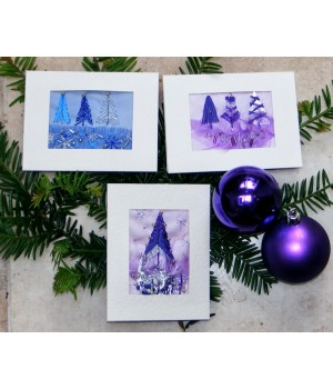 Christmas Cards kit (blue)