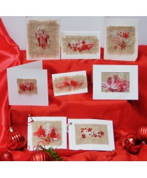 Christmas Cards kit (tweed)