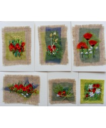 Doodles Cards Kit (Poppies)